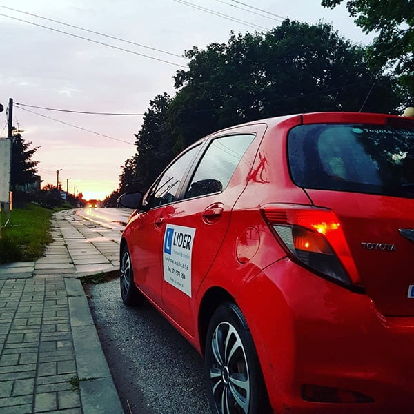 prawo jazdy kategoria B Kielce Toyota Yaris